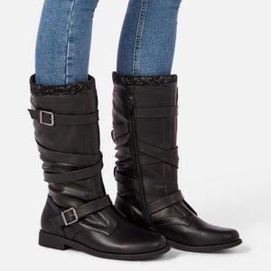Andi Sweater cuff boots mid-calf NIB Warm Boots